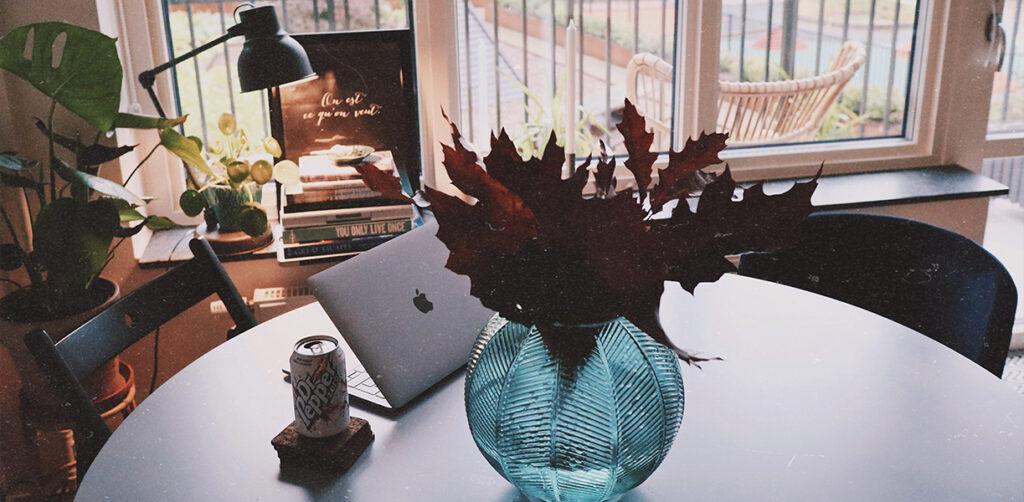 skriva på hösten