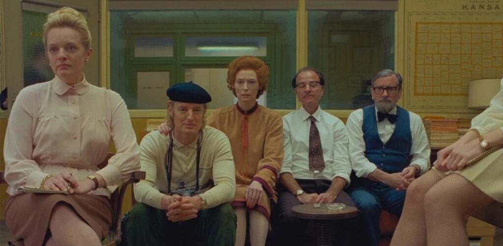 the french dispatch skrivinspirerande filmer