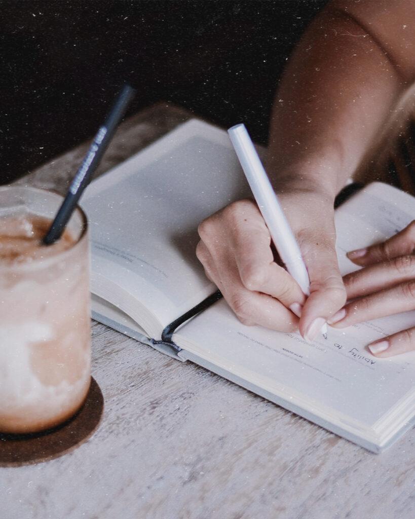 skriv ner ditt mål