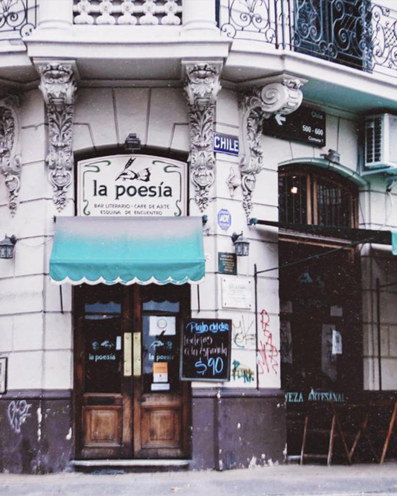 Cafe la poesia Buenos Aires
