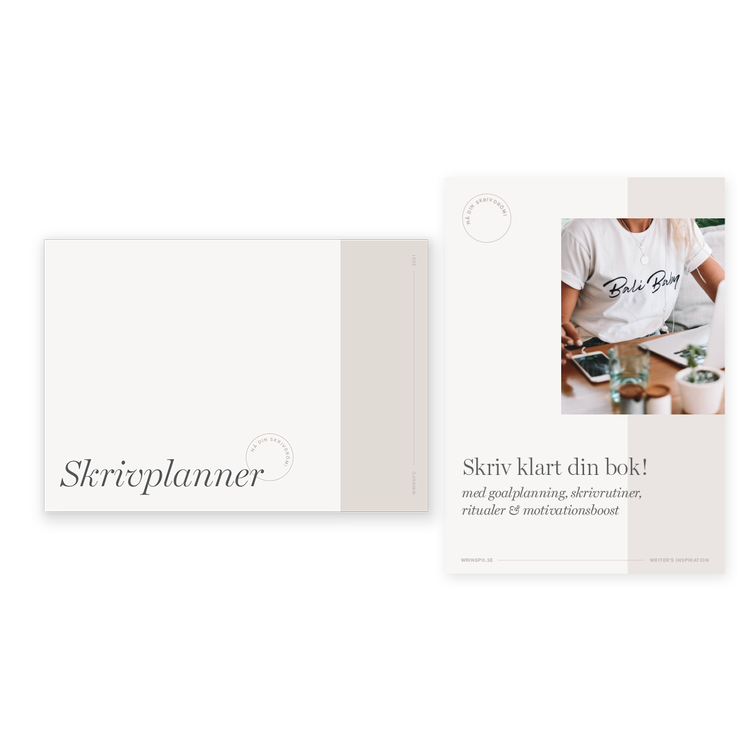 skrivplanner ebok skriv klart din bok