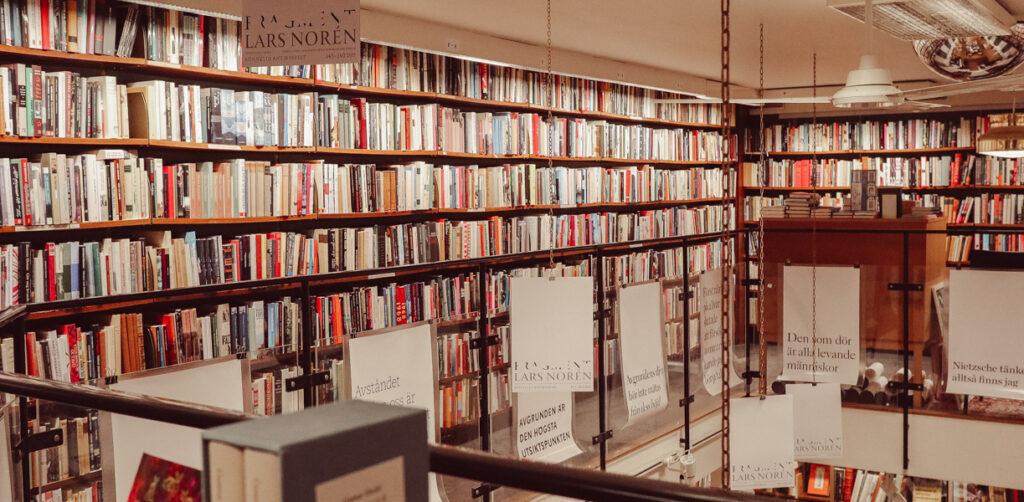 rönnells antikvariat bokhandlar stockholm