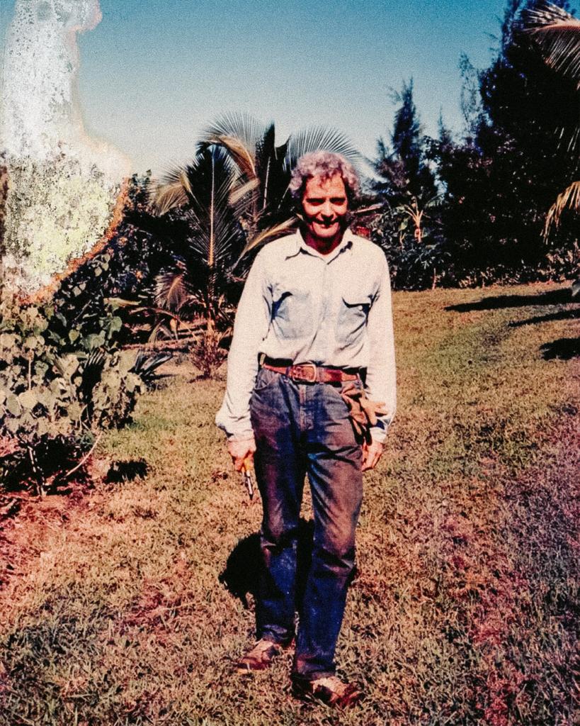 W. S. Merwin på Maui